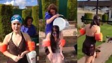 This poor girl's Ice Bucket Challenge went very wrong