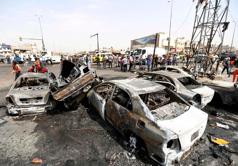 Deadly car bomb iraq
