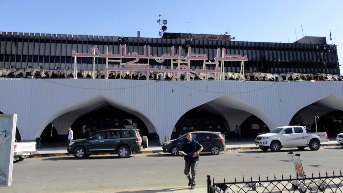 مطار طرابلس ليبيا tripoli airport libya lybia