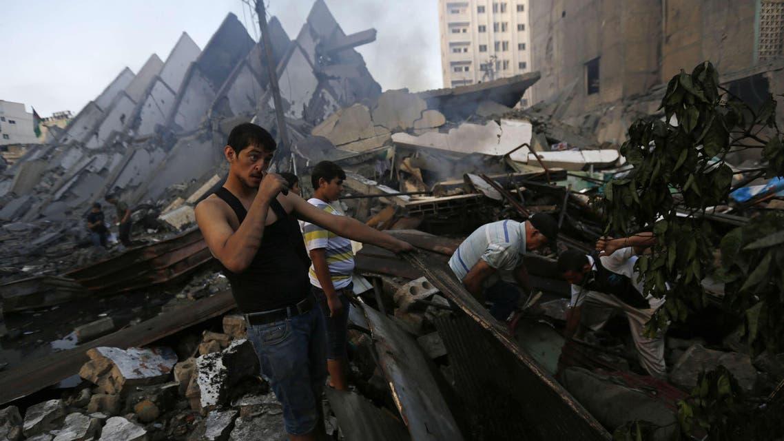 Destruction in Gaza