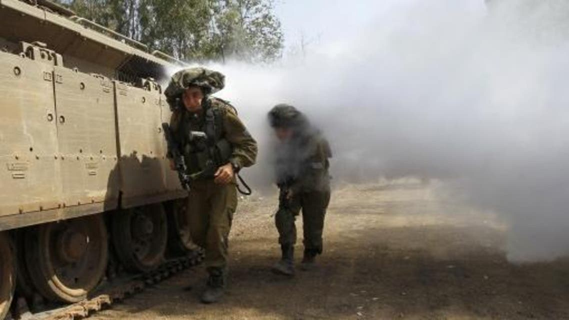 Israeli soldiers train in urban warfare close to the ceasefire line between Israel and Syria on the Israeli occupied Golan Heights May 6, 2013. (File photo: Reuters)1