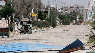اشتباكات بين الجيش الحر وقوات الأسد بمخيم باليرموك