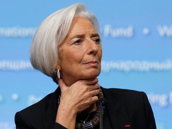 لاجارد: النمو الاقتصادي سيكون مخيبا للآمال في 2016