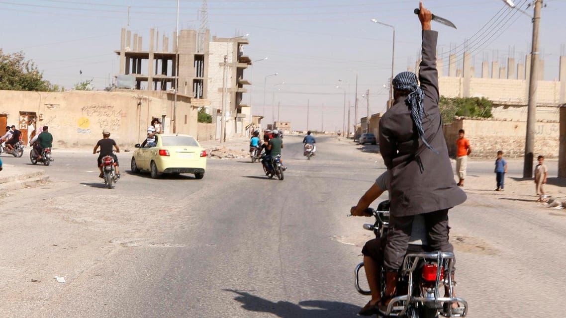 Tabka, near Raqqa ISIS Reuters
