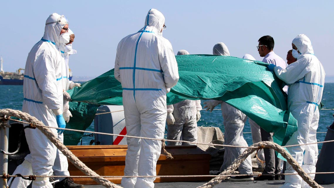 جثث مهاجرين مهاجرون غير شرعيين شرعيون ليبيا إيطاليا غرق موت