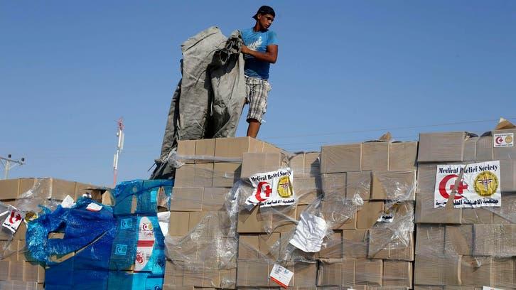البضائع تعاود الدخول إلى غزة من معابرها
