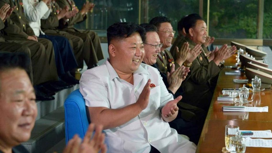 Recently, DPRK (Democratic People's Republic of Korea) top leader Kim Jong-un guided the DPRK National Football Team which was to participate in the 17th Asian Games. Kim Jong-un watched the football match and felt satisfied with these football players' high skills and strong willpower. (Photo source: CRI Online)
