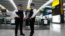 Britain charges man arrested at Heathrow Airport with terrorism offence