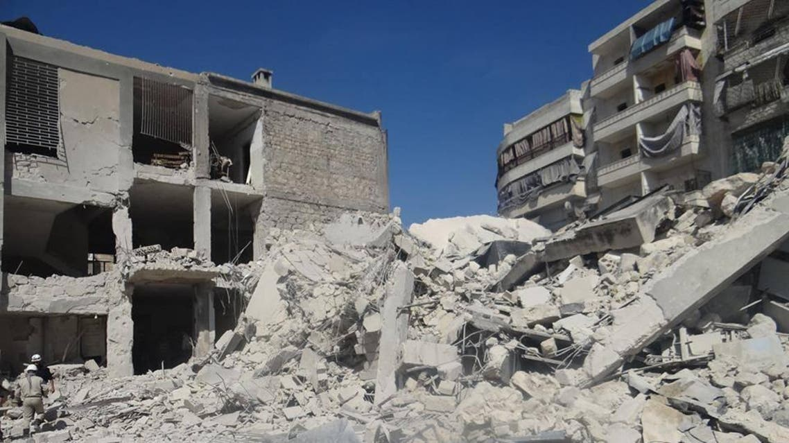 طيران النظام يقصف حلب