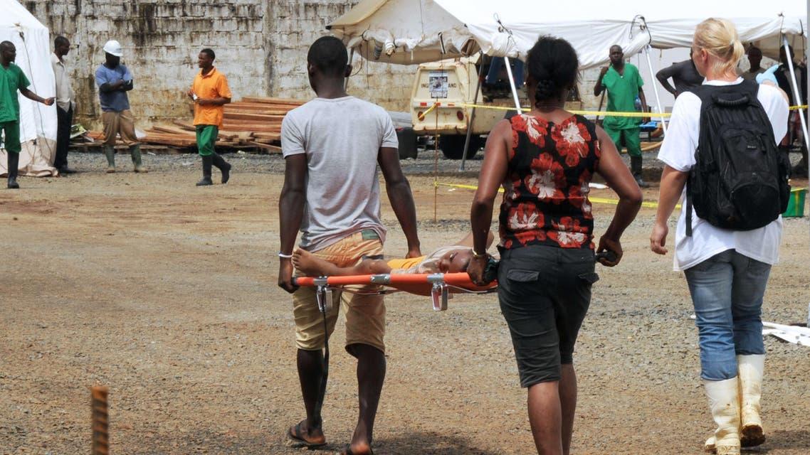 Ebola AFP Monrovia Liberia