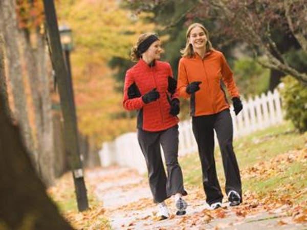 المشي 20 دقيقة يومياً يجنبك السرطان
