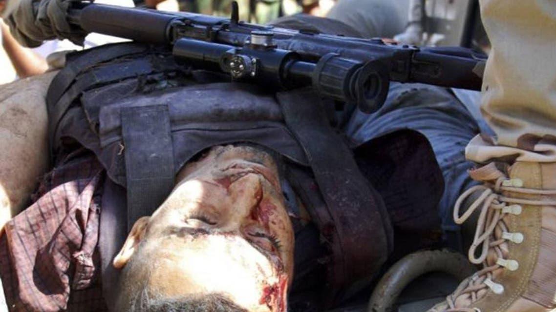 عنصر من داعش قتله الجيش العراقي