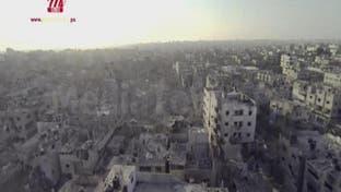 فيديو مؤلم جدا.. هكذا أصبح حي الشجاعية في غزة