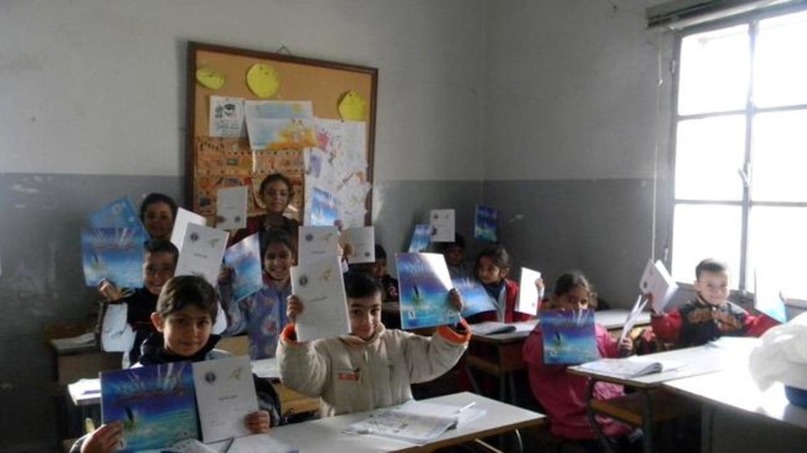 syrian studnets courtesy: al-shorfa.com