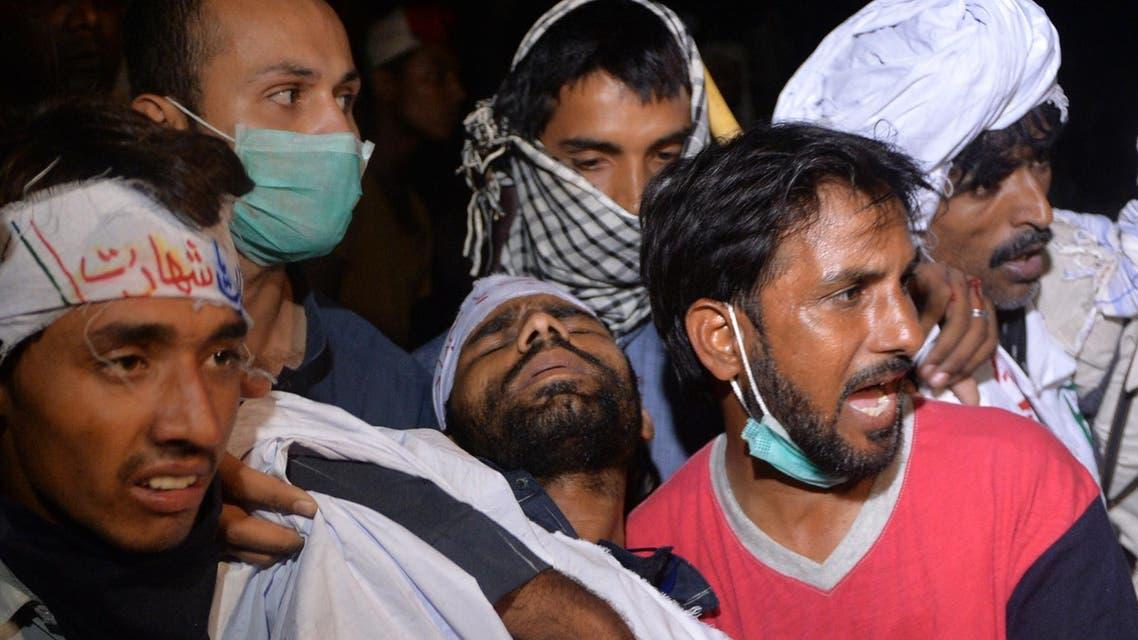 Pakistan protest AFP Sharif