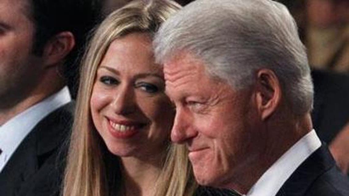 Bill and Chelsea Clinton Reuters