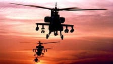 U.S. uses Apache helicopters for first time to hit ISIS