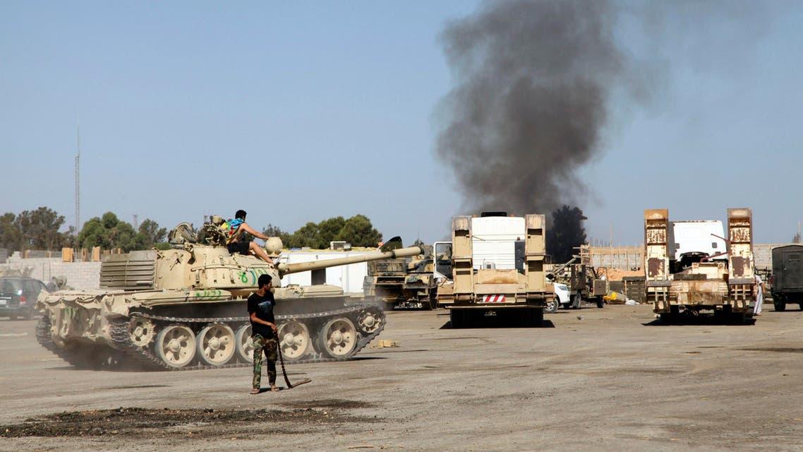 قصف في ليبيا