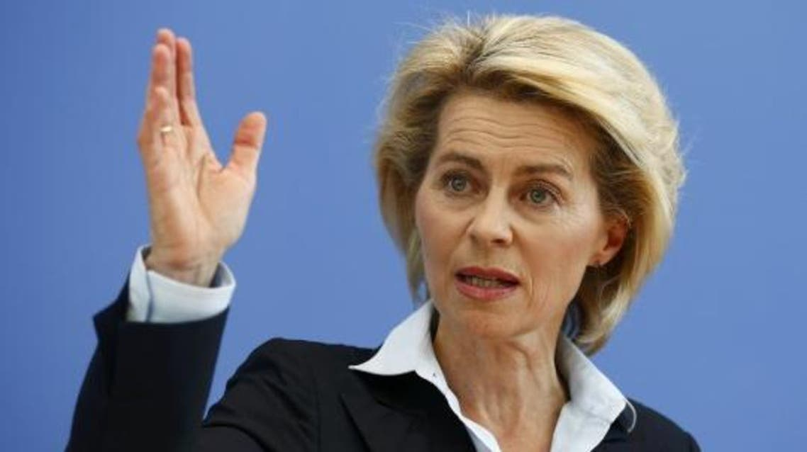 germany defense minister reuters