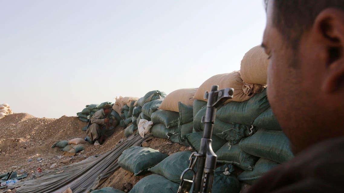 عناصر من قوات البشمركة الكردية