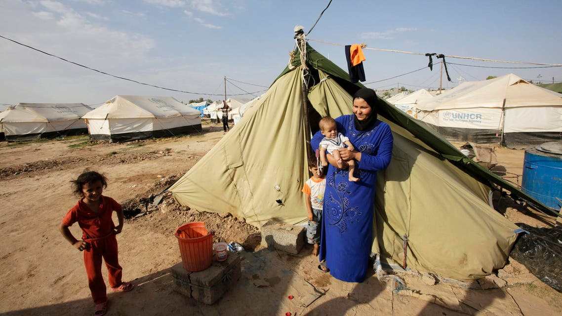 Iraqi refugees search for safety