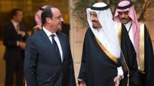 Saudi Crown Prince holds talks with Hollande