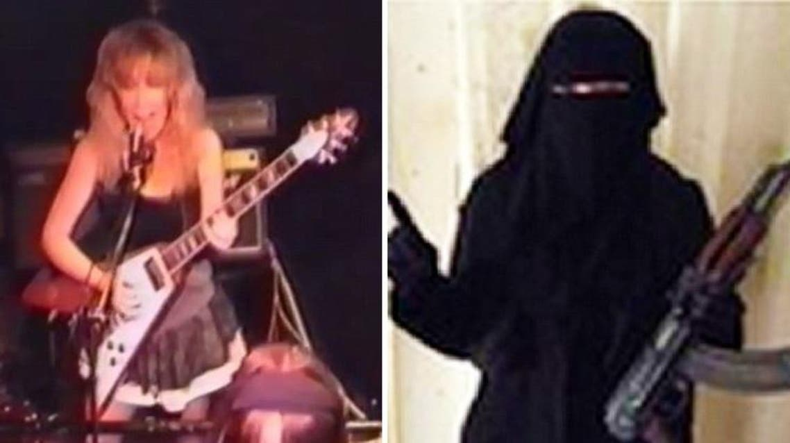 An unemployed British woman is suspected of abandoning her rock-star ambition for militant extremism with ISIS. (Youtube/Daily Mail)