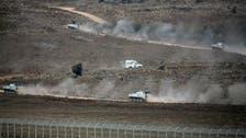گولان کی پہاڑیاں، شامی فوج اور باغیوں میں شدید لڑائی