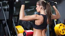 Work the room: Tone up like a pro in the gym's weight-lifting area