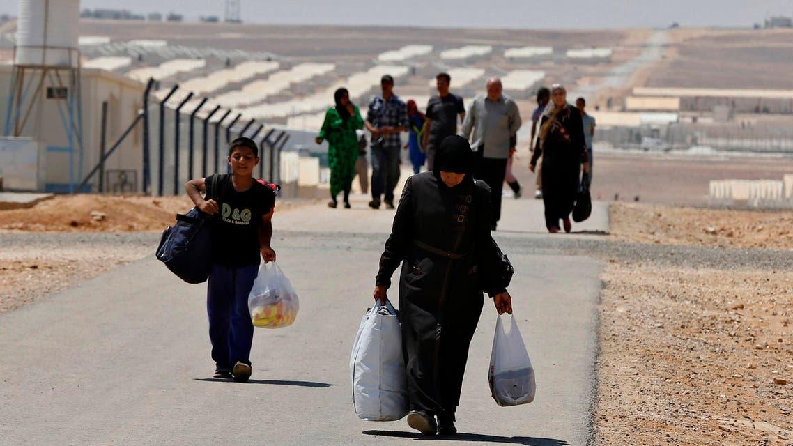 لاجئون سوريون لاجئين سوريين