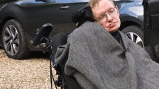 Video: Stephen Hawking takes Ice Bucket Challenge