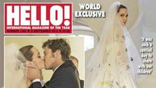 First pictures of Angelina Jolie's wedding dress revealed