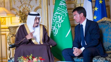 الأمير سلمان يبحث مع رئيس الوزراء الفرنسي قضايا مهمة