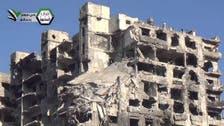 """النظام يشن """"أعنف"""" عملية عسكرية على حي جوبر بدمشق"""