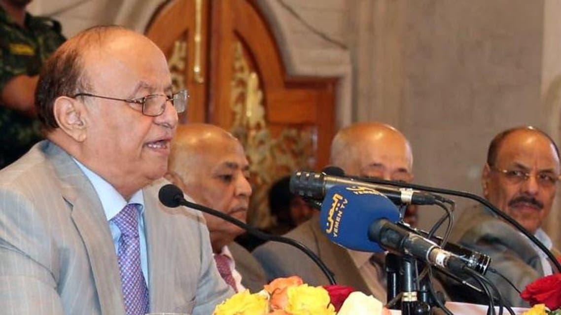 President Abed Rabbo Mansour Hadi AFP