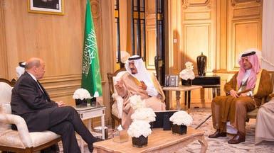 الأمير سلمان يناقش مع وزير خارجية فرنسا أزمة سوريا