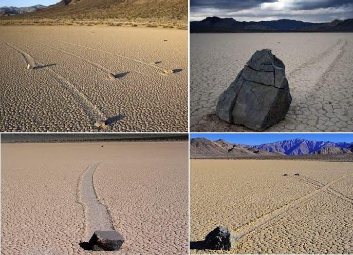 حجارة متنوعة الأحجام والأوزان كانت تتحرك بمفردها طوال قرون، ولا أحد يعرف السبب