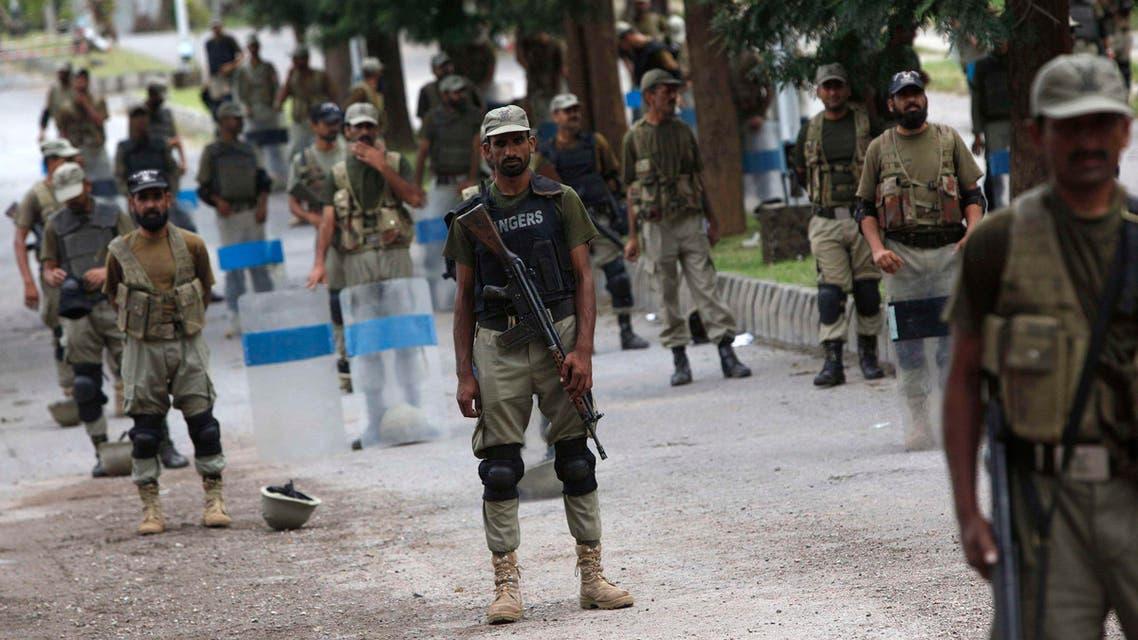 pakistan guards reuters