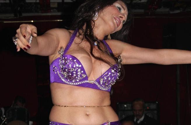 Dina belly dancer phoro courtesy al-Bawaba
