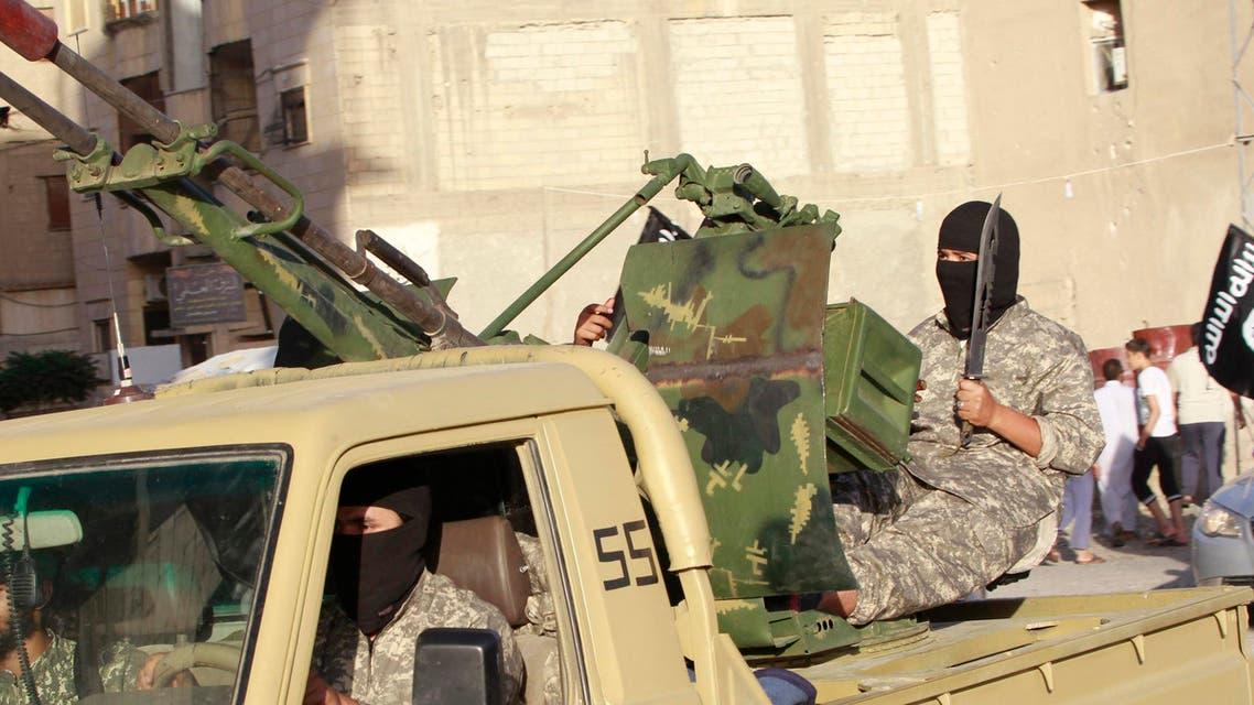 Islamist militants ISIS Raqqa Syria Reuters