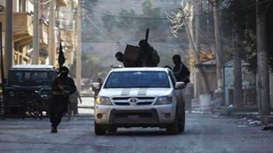 """استهداف قيادي ومقاتلين من """"داعش"""" في كمين بالميادين"""