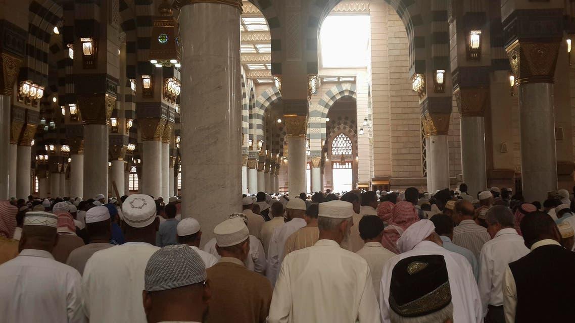 Prophet Mohammad mosque Madinah Reuters
