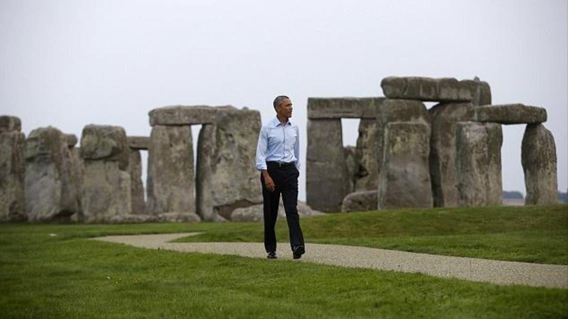 صدمة أسرة بريطانية التقت أوباما بالصدفة