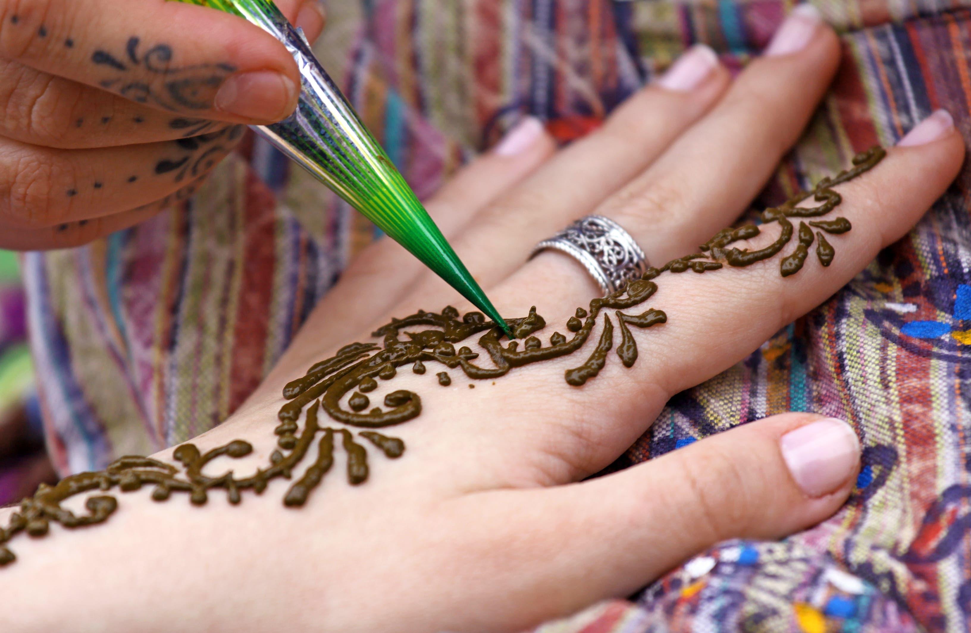 Henna Tattoo Thailand : Henna ink etsy
