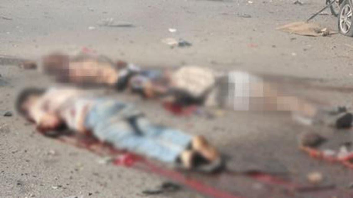 التمثيل بقتلى داعش