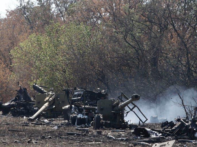 هجوم بالمدفعية يجهض الهدنة بين روسيا وأوكرانيا