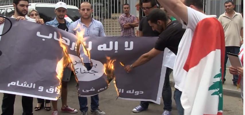 Burn ISIS flag challenge youtube