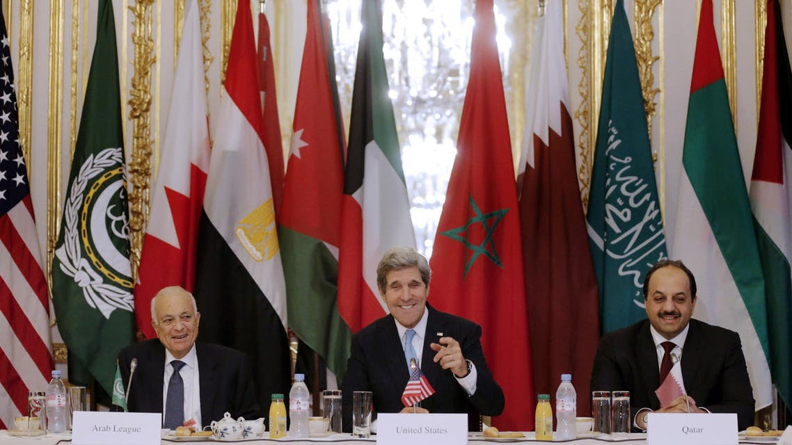 Arab League chief Nabil al-Arabi said ISIS must be confronted 'militarily and politically' a day after he and U.S. Secretary of State John Kerry discussed taking action against the group. (File photo: AFP)