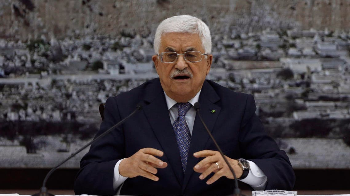 Mahmoud Abbas Reuters