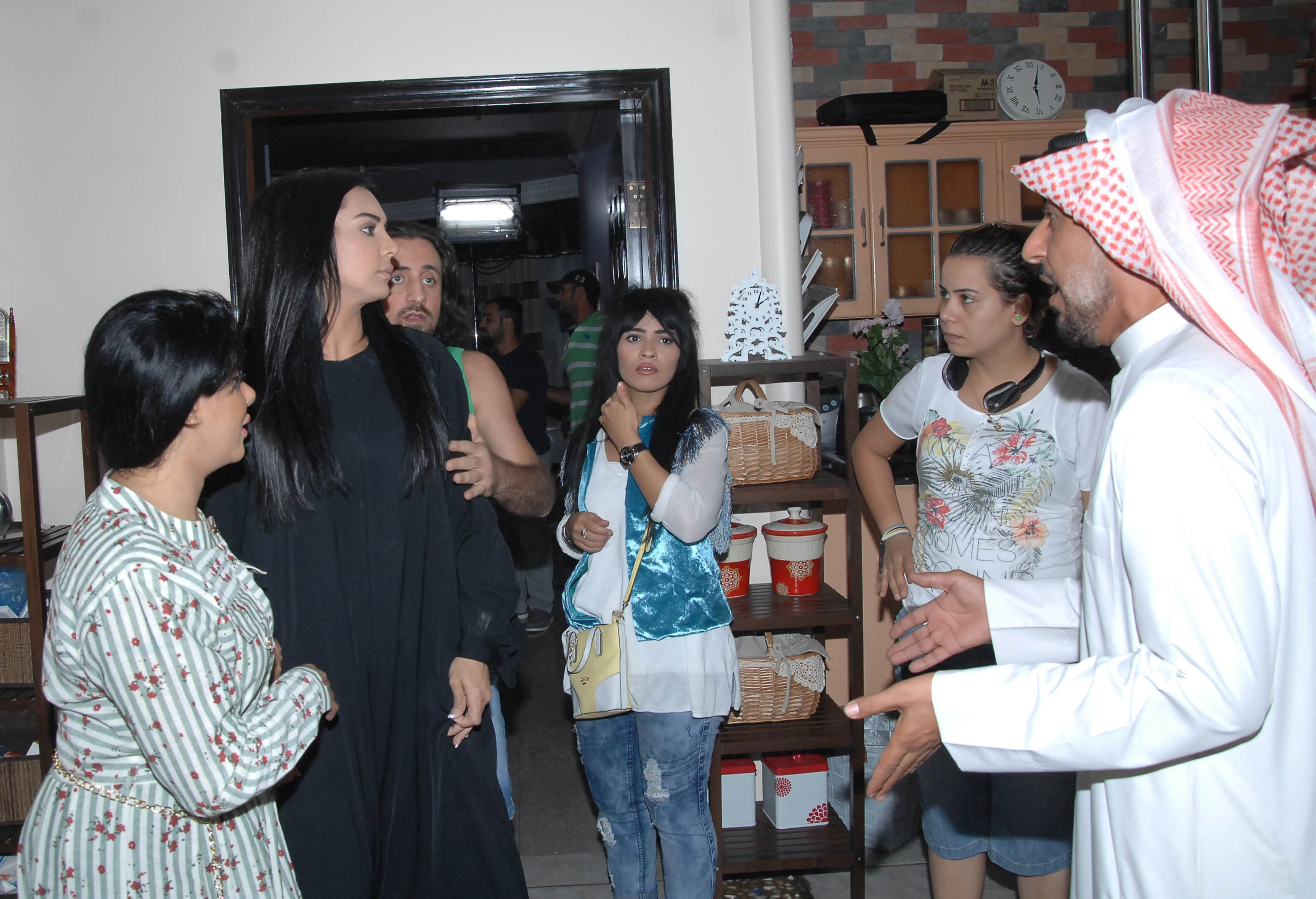 منير الزعبى مع خالد البريكى وملاك